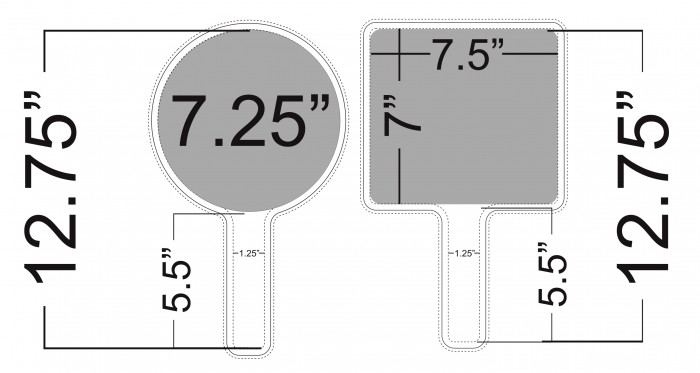 RALLY FANS MEASUREMENTS  abcSigns