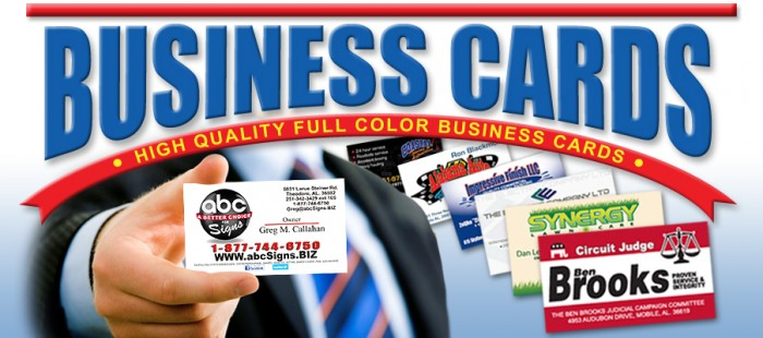 BUSINESS CARDS abcSigns